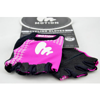 Motion Gloves (Race) Half Fingered (Women) Purple