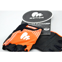 Motion Gloves (Race) Half Fingered (Men) Orange
