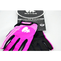 Motion Gloves (Race) Full Fingered (Women)Purple